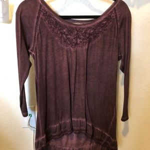 Plum layering top (medium)